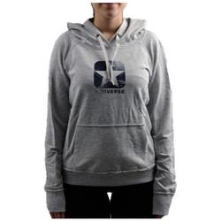 textil Dame Sweatshirts Converse  Grå