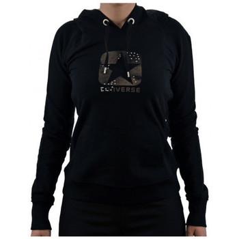 textil Dame Sweatshirts Converse  Sort