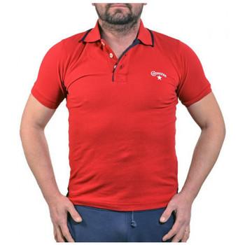textil Herre Polo-t-shirts m. korte ærmer Converse  Rød