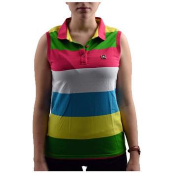 textil Dame Polo-t-shirts m. korte ærmer Converse  Flerfarvet