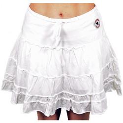textil Dame Shorts Converse  Hvid