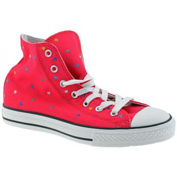 Sko Pige Høje sneakers Converse  Pink