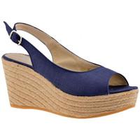 Sko Dame Sandaler Keys  Blå