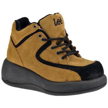 Sko Dame Høje sneakers Lee  Beige