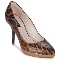 Sko Dame Pumps Escada AS701 Brun / Leopard