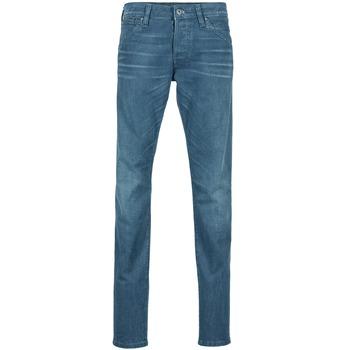 textil Herre Smalle jeans Jack & Jones GLENN JEANS INTELLIGENCE Marineblå