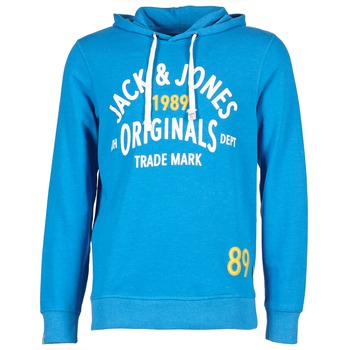 textil Herre Sweatshirts Jack & Jones ATHLETIC SWEAT ORIGINALS Blå