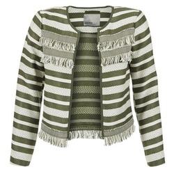 textil Dame Jakker / Blazere Vero Moda FRILL Kaki / Beige