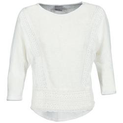textil Dame Langærmede T-shirts Vero Moda MYBELLA Hvid