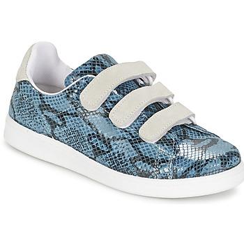 Sko Dame Lave sneakers Yurban ETOUNATE Blå / Jeans