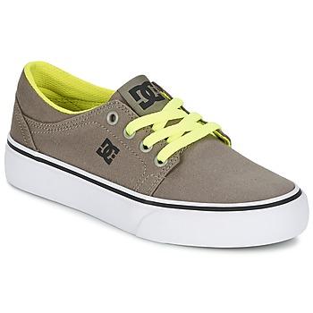 Sko Dreng Lave sneakers DC Shoes TRASE TX Muldvarpegrå