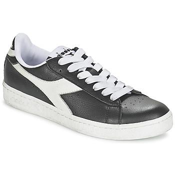 Sko Lave sneakers Diadora GAME L LOW Sort / Hvid