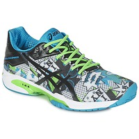 Sko Herre Tennissko Asics GEL-SOLUTION SPEED 3 L.E. NYC Hvid / Sort / Blå