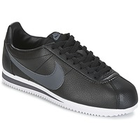 Sko Herre Lave sneakers Nike CLASSIC CORTEZ LEATHER Sort / Grå