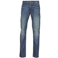 textil Herre Smalle jeans 7 for all Mankind RONNIE ELECTRIC MIND Blå / Medium
