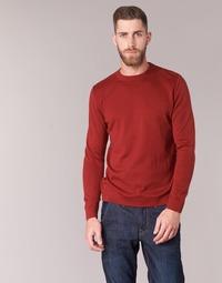 textil Herre Pullovere BOTD ELABASE ROUND Rød