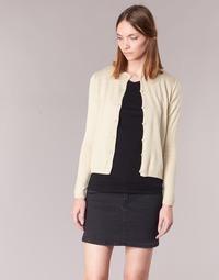 textil Dame Veste / Cardigans BOTD EVANITOA BEIGE