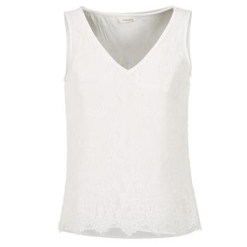 textil Dame Toppe / T-shirts uden ærmer Naf Naf LADALIA Beige