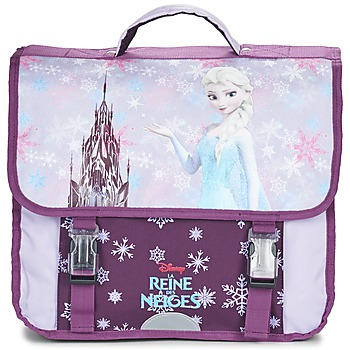 Tasker Pige Skoletasker Disney REINE DES NEIGES CARTABLE 38CM Violet