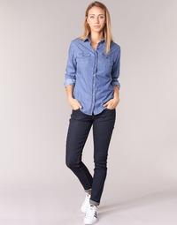 textil Dame Smalle jeans Yurban IETOULETTE Blå