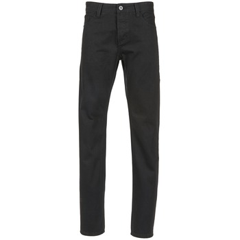 textil Herre Lige jeans Yurban EDABALO Sort