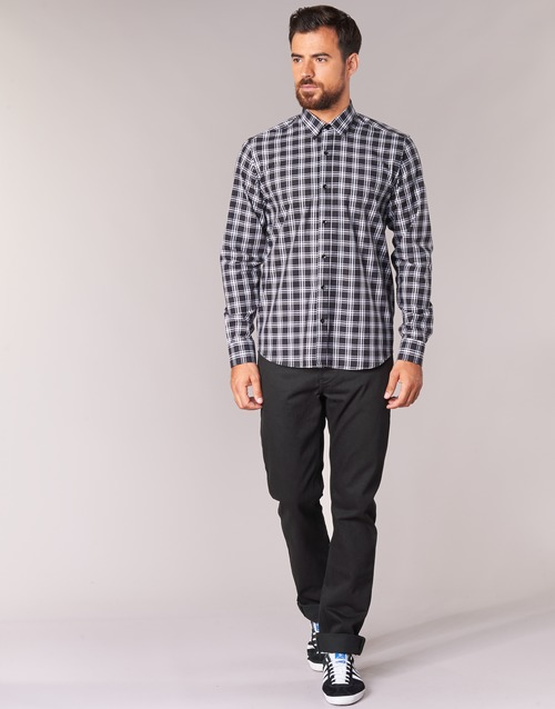 textil Herre Lige jeans Yurban IEDABALO Sort