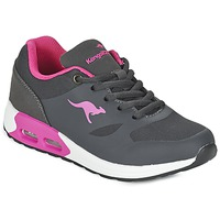 Sko Pige Lave sneakers Kangaroos KANGA X Grå / Pink