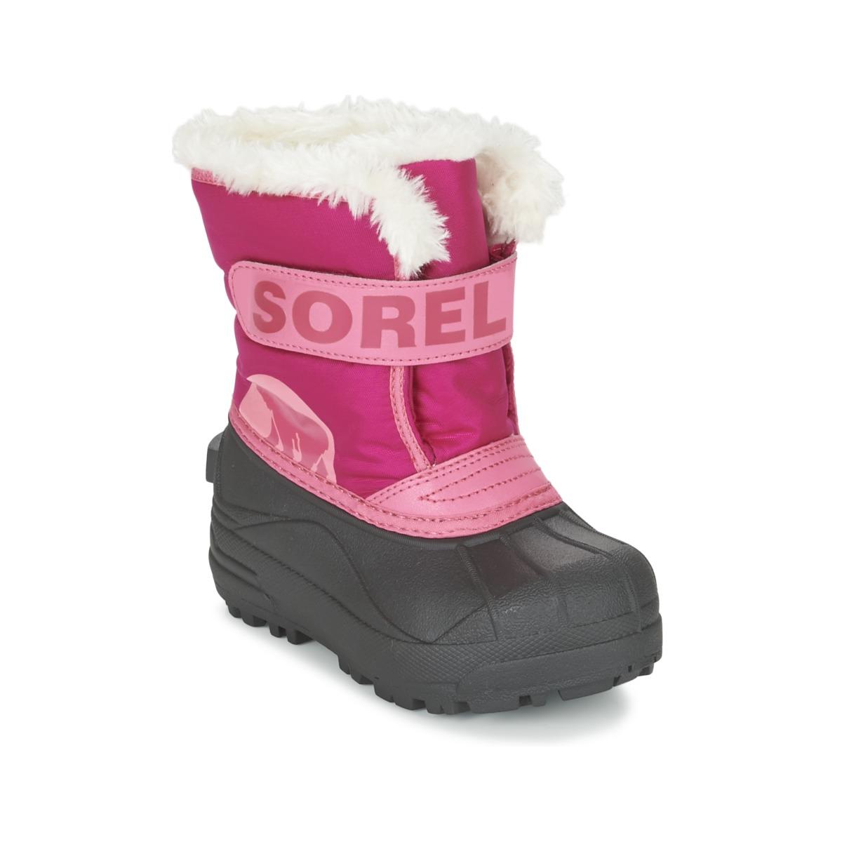 Vinterstøvler til børn Sorel CHILDRENS SNOW COMMANDER