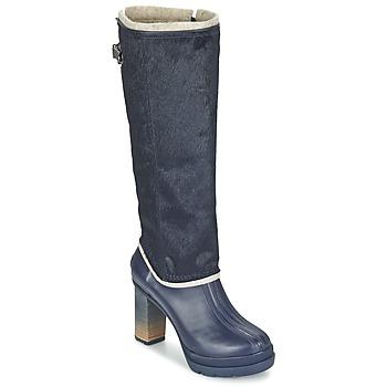 Sko Dame Chikke støvler Sorel MEDINA IV PREMIUM Collegiate / Navy / Sort