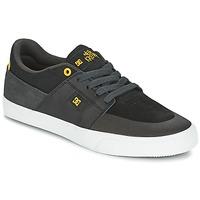 Sko Herre Lave sneakers DC Shoes WES KREMER Sort / Grå / Gul