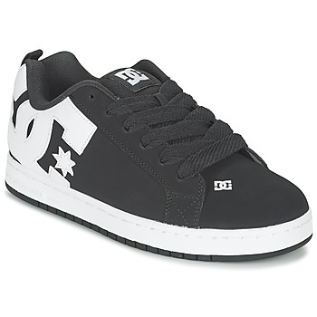 Sko Herre Skatesko DC Shoes COURT GRAFFIK Sort