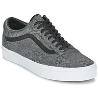 Sko Dame Lave sneakers Vans OLD SKOOL Sort / Forvasket