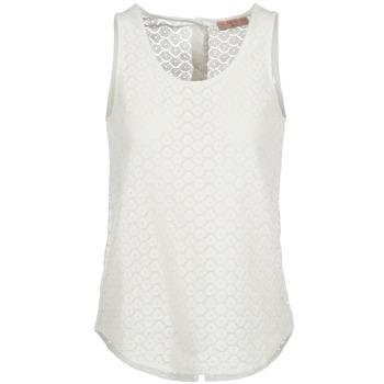 textil Dame Toppe / T-shirts uden ærmer Moony Mood GUOHIAVINE Hvid