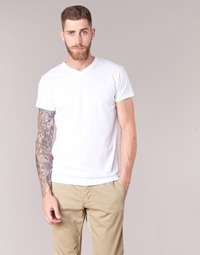 textil Herre T-shirts m. korte ærmer BOTD ECALORA Hvid