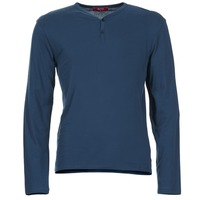 textil Herre Langærmede T-shirts BOTD ETUNAMA Marineblå