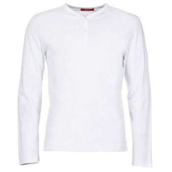 textil Herre Langærmede T-shirts BOTD ETUNAMA Hvid