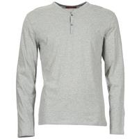 textil Herre Langærmede T-shirts BOTD ETUNAMA Grå / Marmoreret