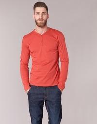 textil Herre Langærmede T-shirts BOTD ETUNAMA Rød