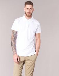 textil Herre Polo-t-shirts m. korte ærmer BOTD EPOLARO Hvid