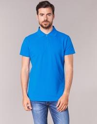 textil Herre Polo-t-shirts m. korte ærmer BOTD EPOLARO Blå