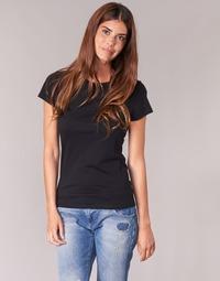 textil Dame T-shirts m. korte ærmer BOTD EQUATILA Sort