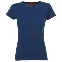 textil Dame T-shirts m. korte ærmer BOTD EQUATILA Marineblå