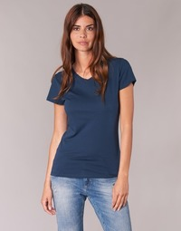 textil Dame T-shirts m. korte ærmer BOTD EFLOMU Marineblå