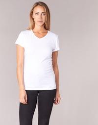textil Dame T-shirts m. korte ærmer BOTD EFLOMU Hvid