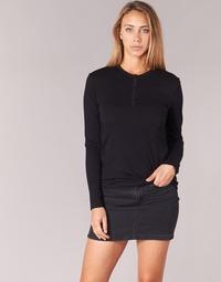 textil Dame Langærmede T-shirts BOTD EBISCOL Sort