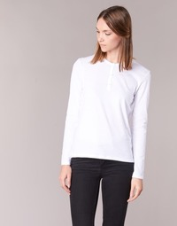 textil Dame Langærmede T-shirts BOTD EBISCOL Hvid