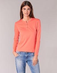textil Dame Langærmede T-shirts BOTD EBISCOL Orange