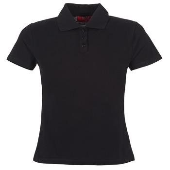 textil Dame Polo-t-shirts m. korte ærmer BOTD ECLOVERA Sort