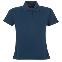 textil Dame Polo-t-shirts m. korte ærmer BOTD ECLOVERA Marineblå