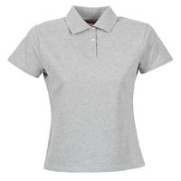 textil Dame Polo-t-shirts m. korte ærmer BOTD ECLOVERA Grå